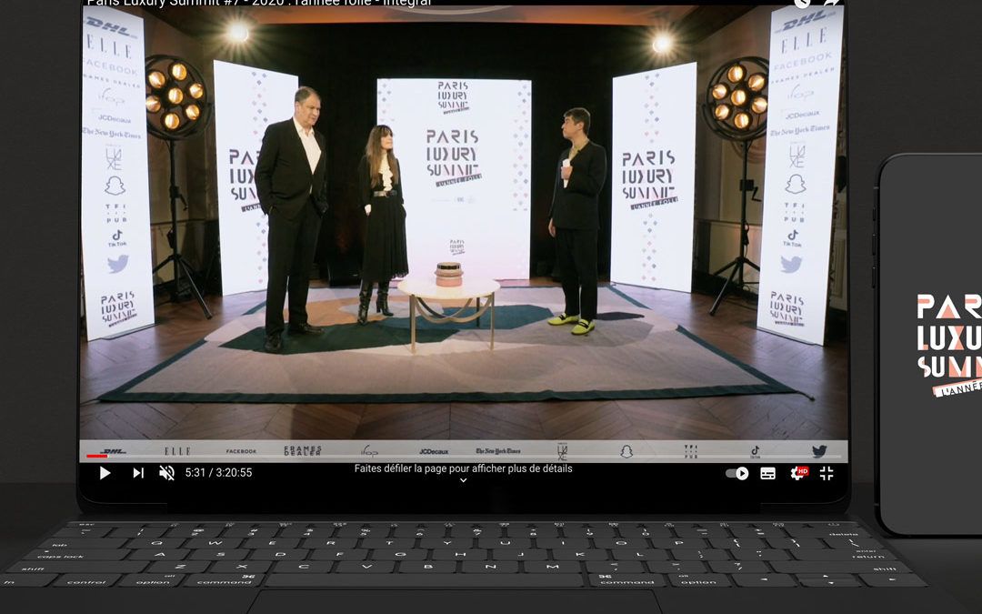 Paris Luxury Summit Digital