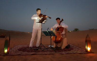 Concert dans le désert pour SODEXO